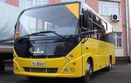 Школьный автобус МАЗ 241