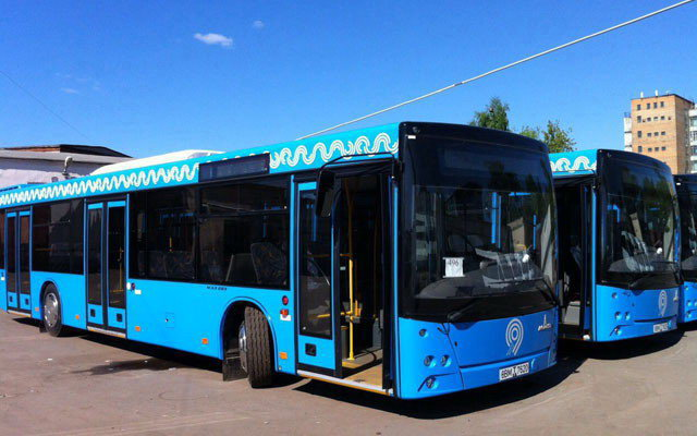 Завершена поставка автобусов МАЗ для частных перевозчиков