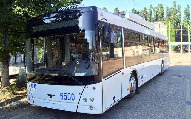 Троллейбусы СВАРЗ 6275